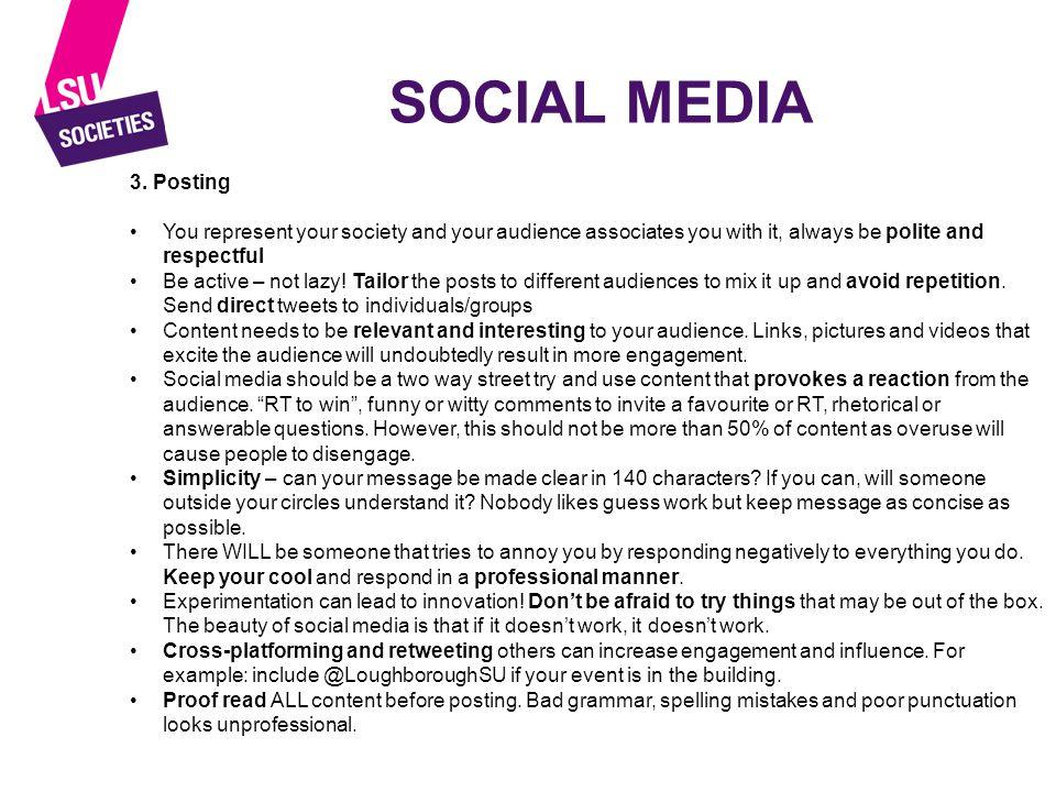 SOCIAL MEDIA 3.
