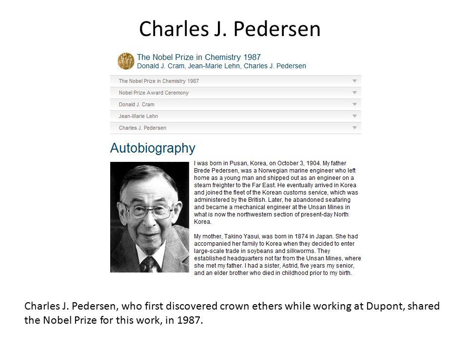 Charles J. Pedersen Charles J.