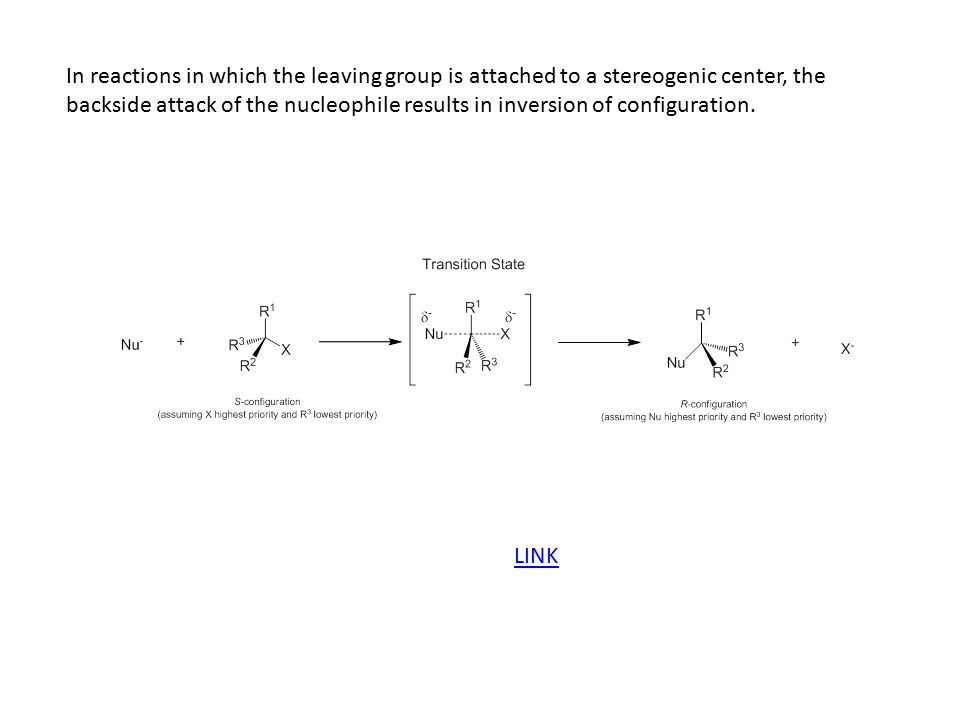 Q: What will increase the rate of an S N 2 reaction.