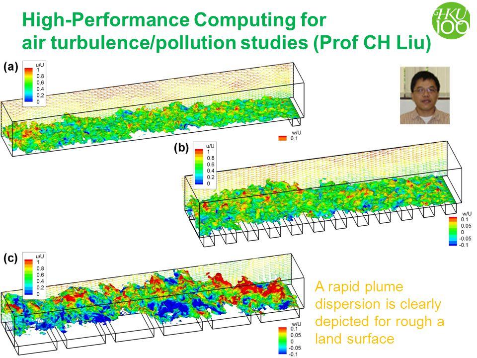 High-Performance Computing & Air Turbulence/Pollution Studies
