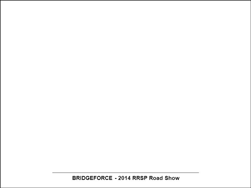 BRIDGEFORCE - 2014 RRSP Road Show