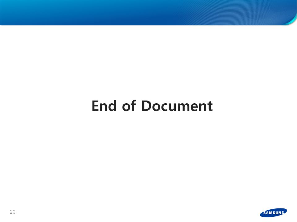 20 End of Document
