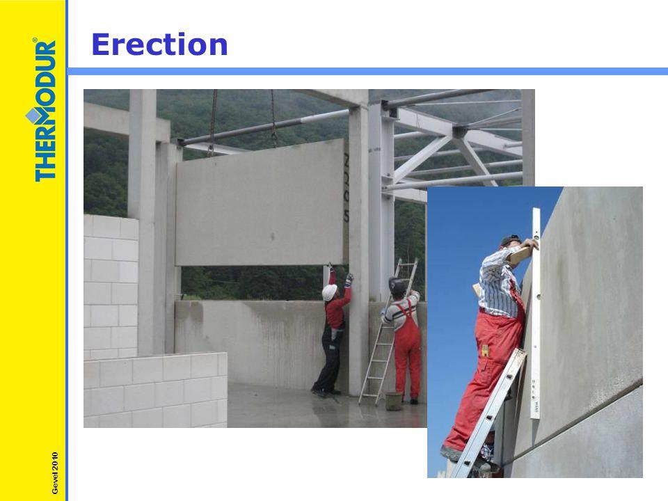 Erection Gevel 2010