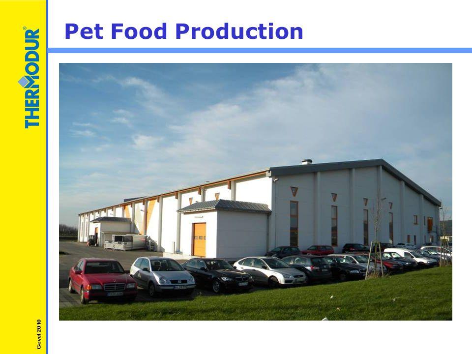 Pet Food Production Gevel 2010