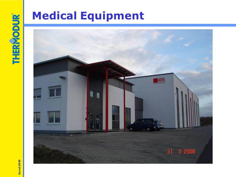 Medical Equipment Gevel 2010