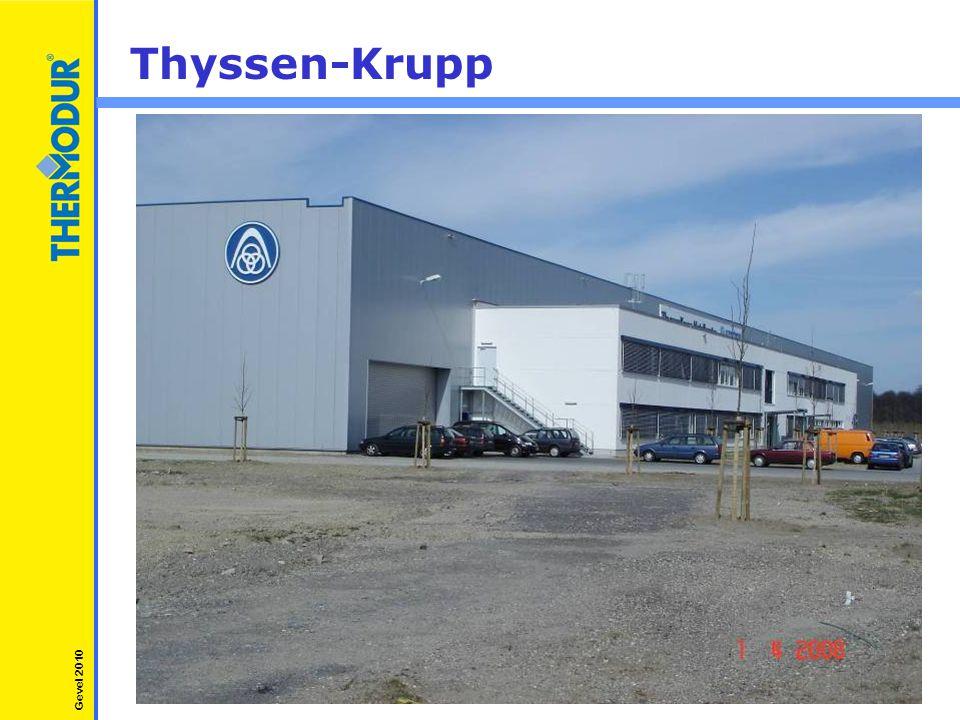 Thyssen-Krupp Gevel 2010