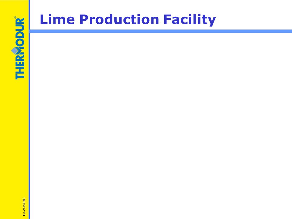 Lime Production Facility Gevel 2010