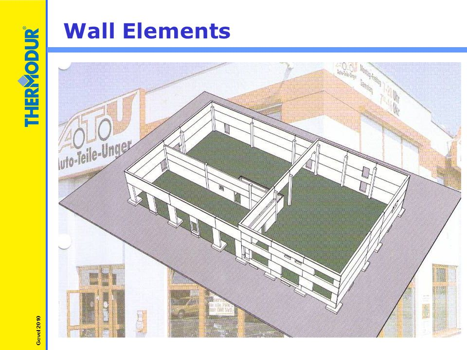 Wall Elements Gevel 2010