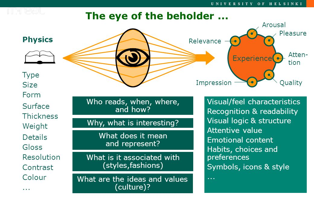 The eye of the beholder...