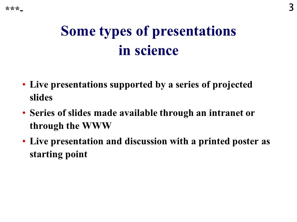 143 Presentations through the WWW with PowerPoint 2000,… : advantages Working, active hyperlinks can be incorporated in the slides.