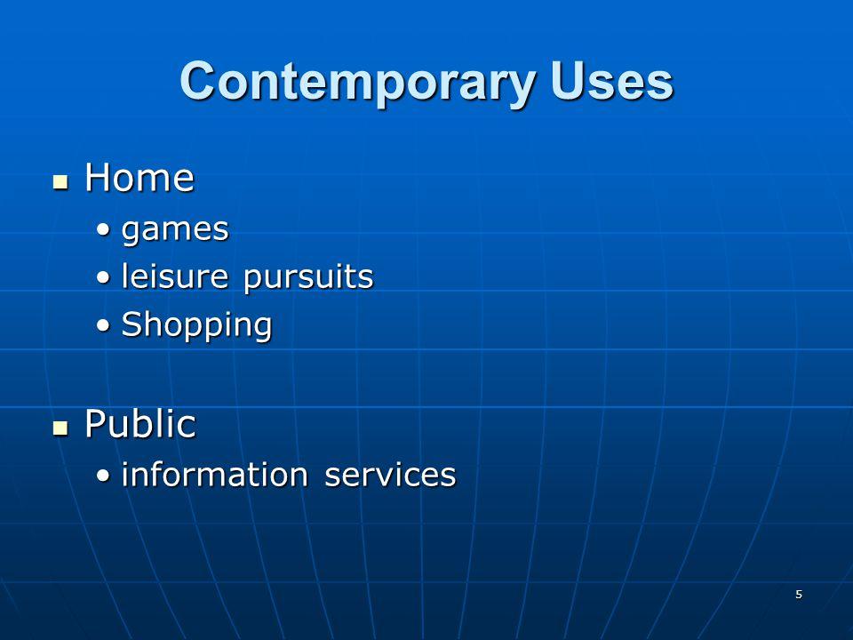 6 Means of Delivery CD ROM CD ROM DVD ROM DVD ROM Kiosk Kiosk WWW WWW