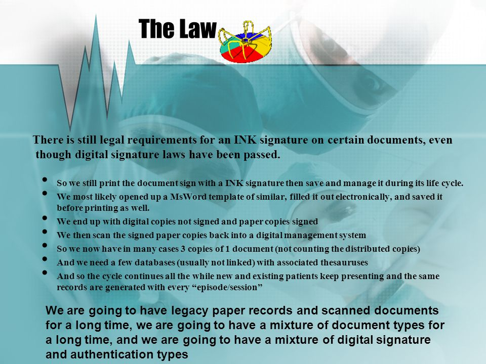 Regardless or whether you need to sign a web form, database form, report, drawing, map, plan, business document, process etc a Handwritten Dynamic Digital Signature can replace the need to print and sign in INK
