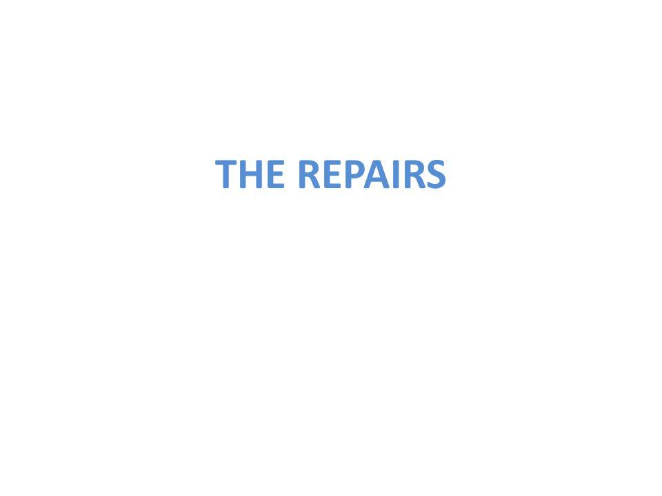 THE REPAIRS