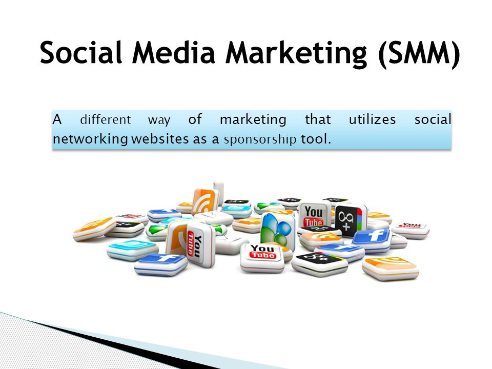 A different way of marketing that utilizes social networking websites as a sponsorship tool.
