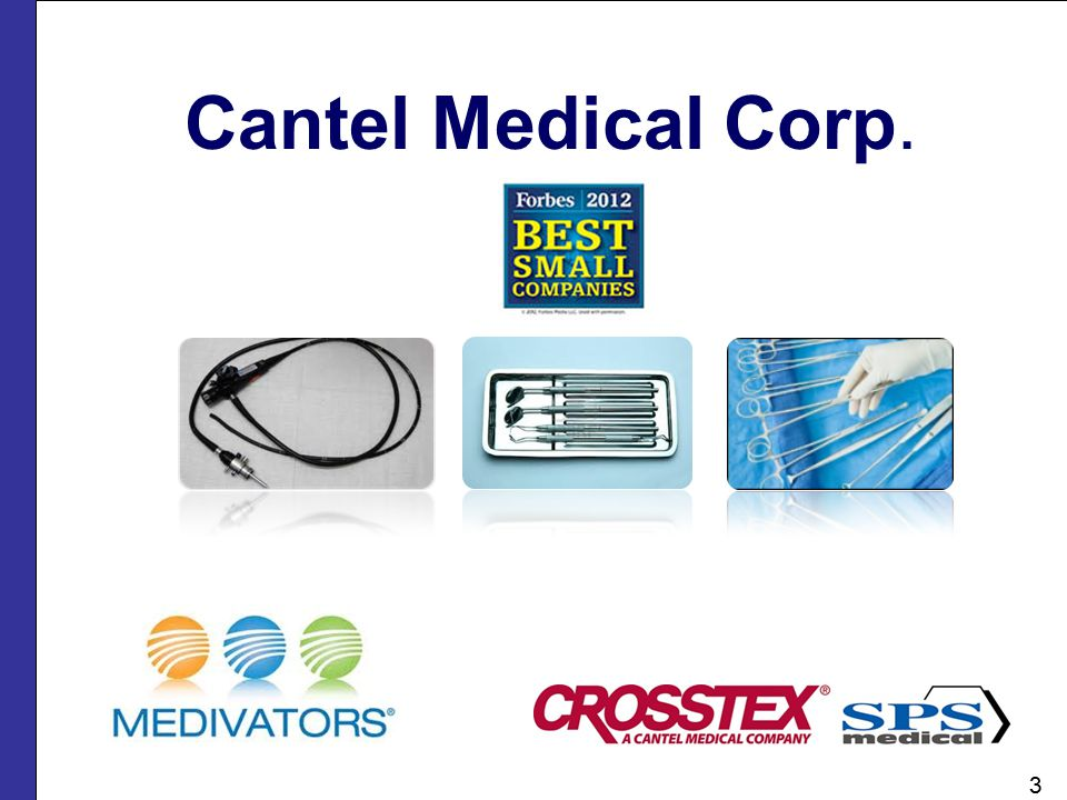 Cantel Medical Corp. 3