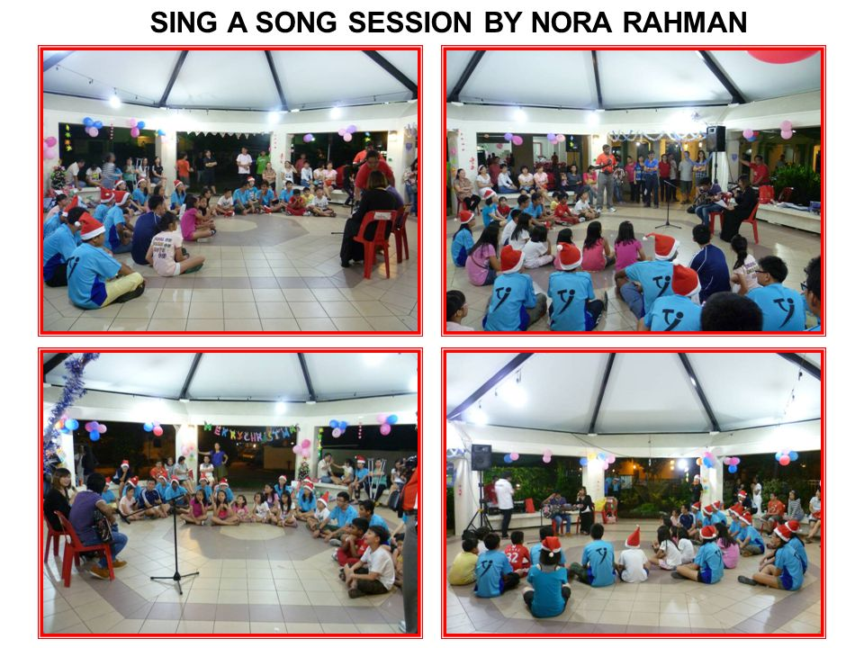 SING A SONG SESSION BY NORA RAHMAN