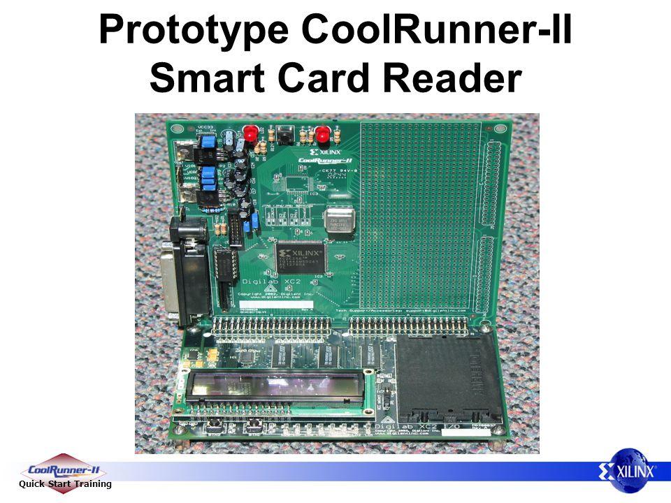 Quick Start Training Prototype CoolRunner-II Smart Card Reader