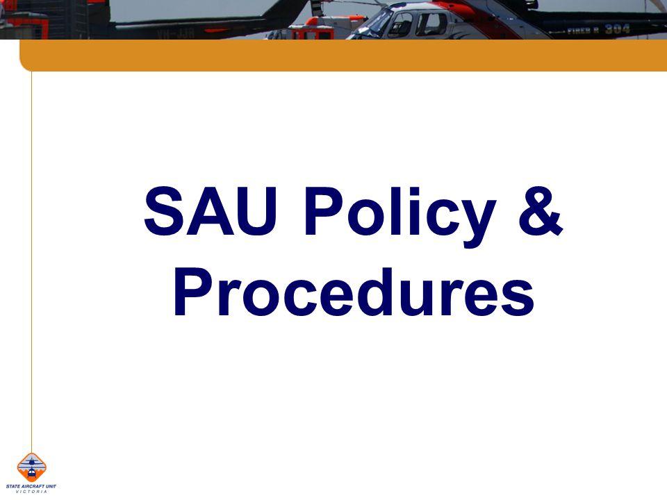 SAU Policy & Procedures