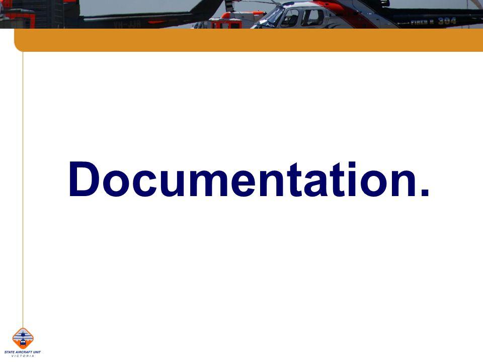 Documentation.