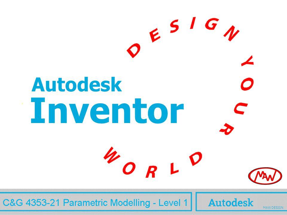 Inventor MAW Autodesk MAW DESIGN