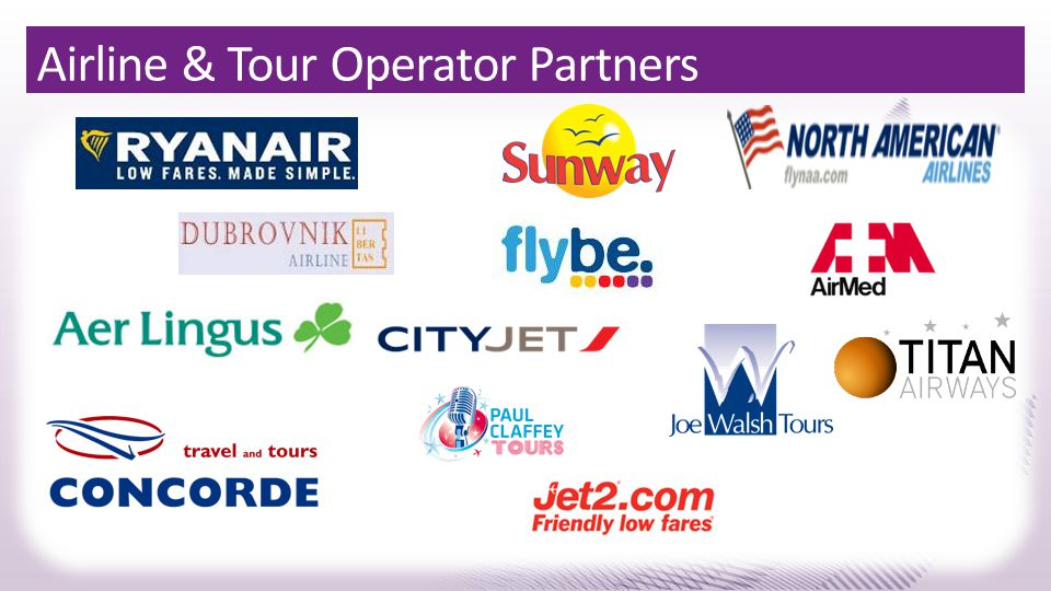 Airline & Tour Operator Partners