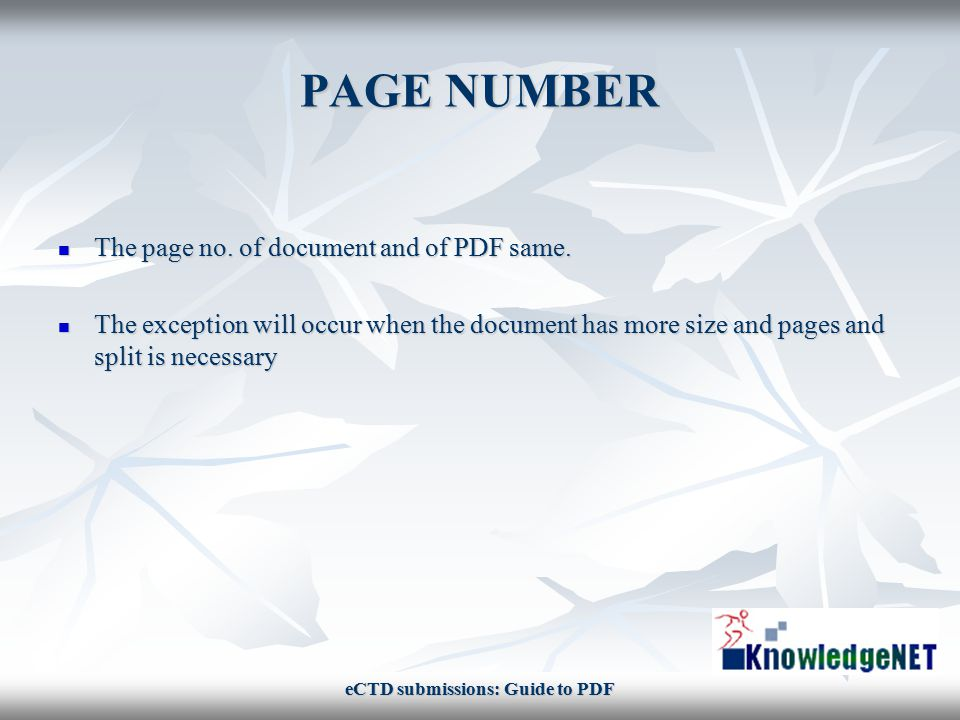 SOME AVOIDS PDF should be avoided to be created form scanning PDF should be avoided to be created form scanning File name must not include special characters like punctuation, underscore, non-alphanumeric (e.g.