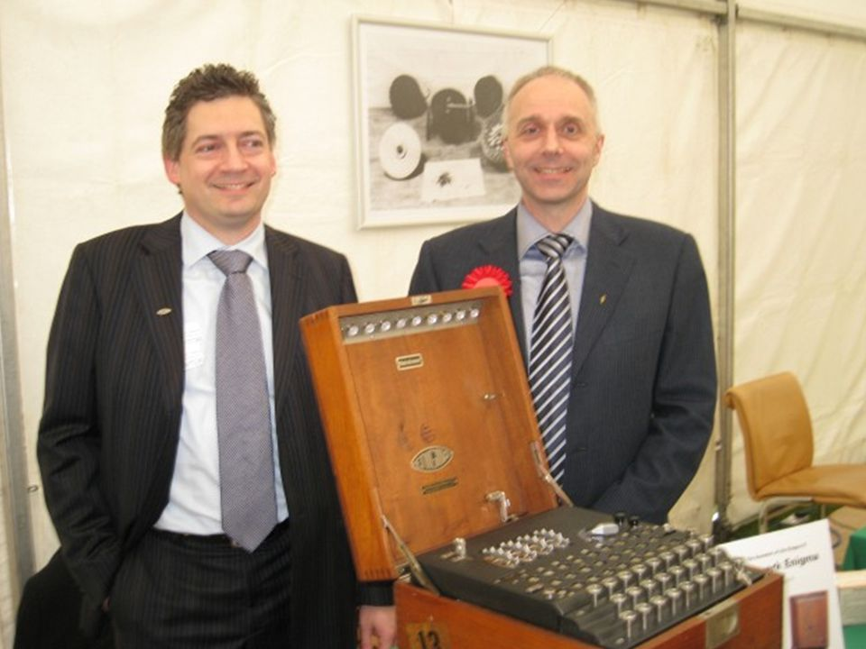 Second Annual Enigma Forum The ENIGMA and other Historic Cipher Machines Paul Reuvers PE1BXL and Marc Simons PE1RRT The Russian FIALKA Website: cryptomuseum.com