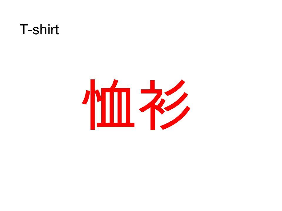 衣物 clothes