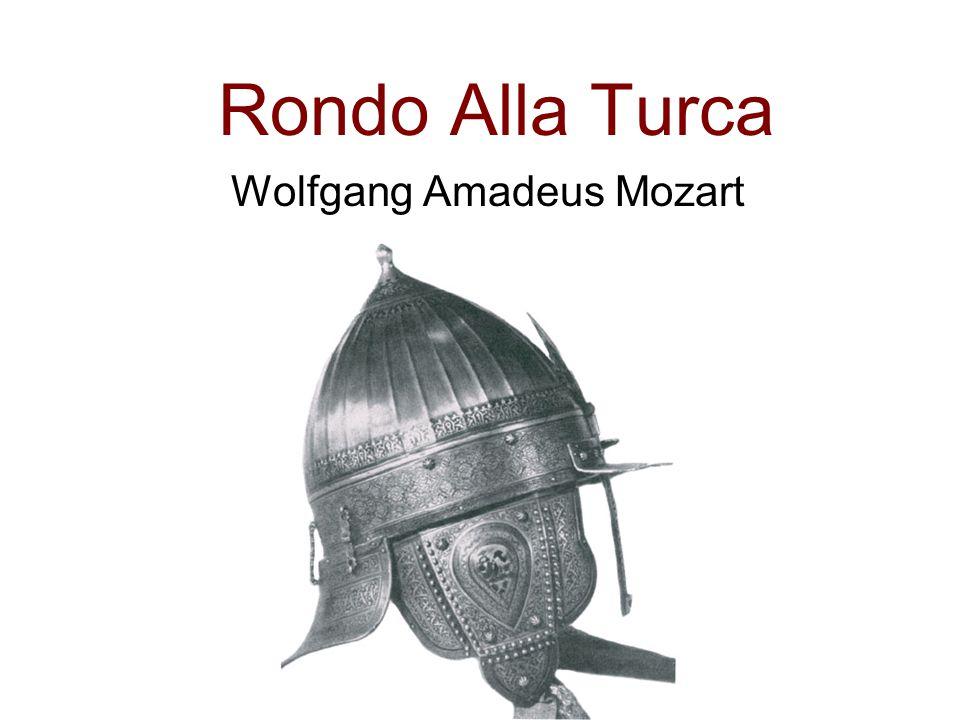 Rondo Alla Turca Wolfgang Amadeus Mozart