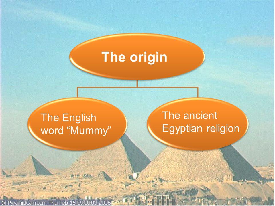 The English word Mummy Black mummies Asphalt