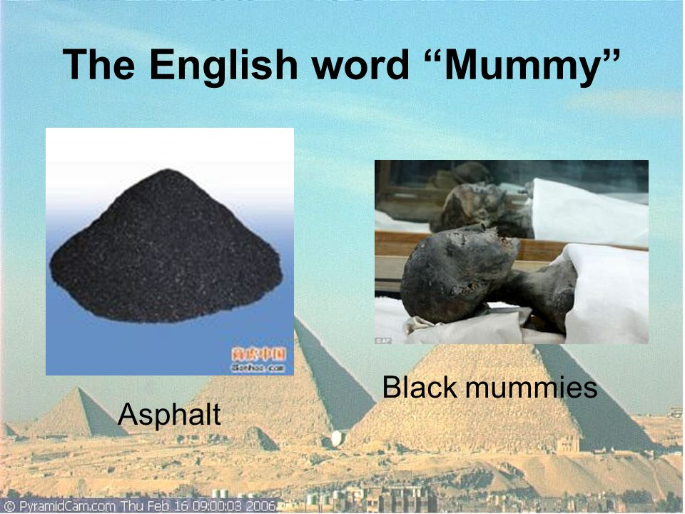 Q5.Which materials do you suggest to make mummies.