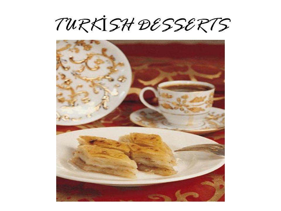 TURK İ SH DESSERTS