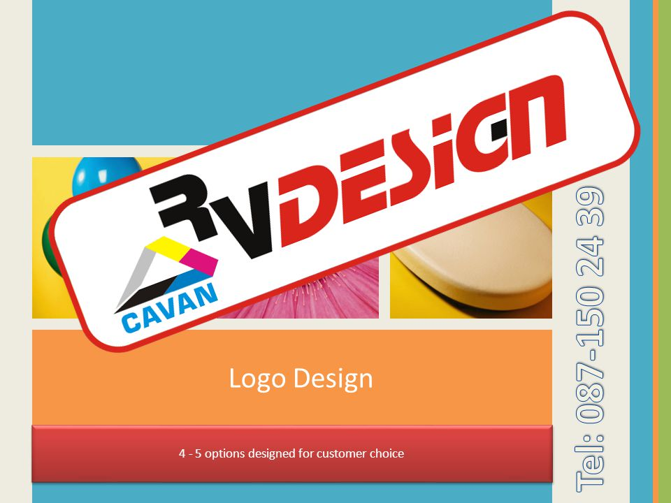 Logo Design 4 - 5 options designed for customer choice
