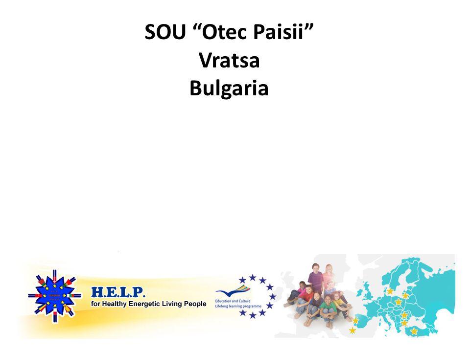 SOU Otec Paisii Vratsa Bulgaria