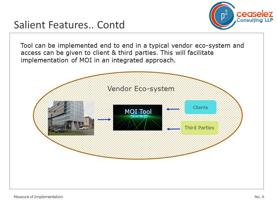 No. 6Measure of Implementation Salient Features..