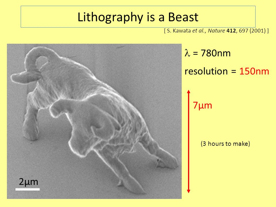 2µm Lithography is a Beast [ S.
