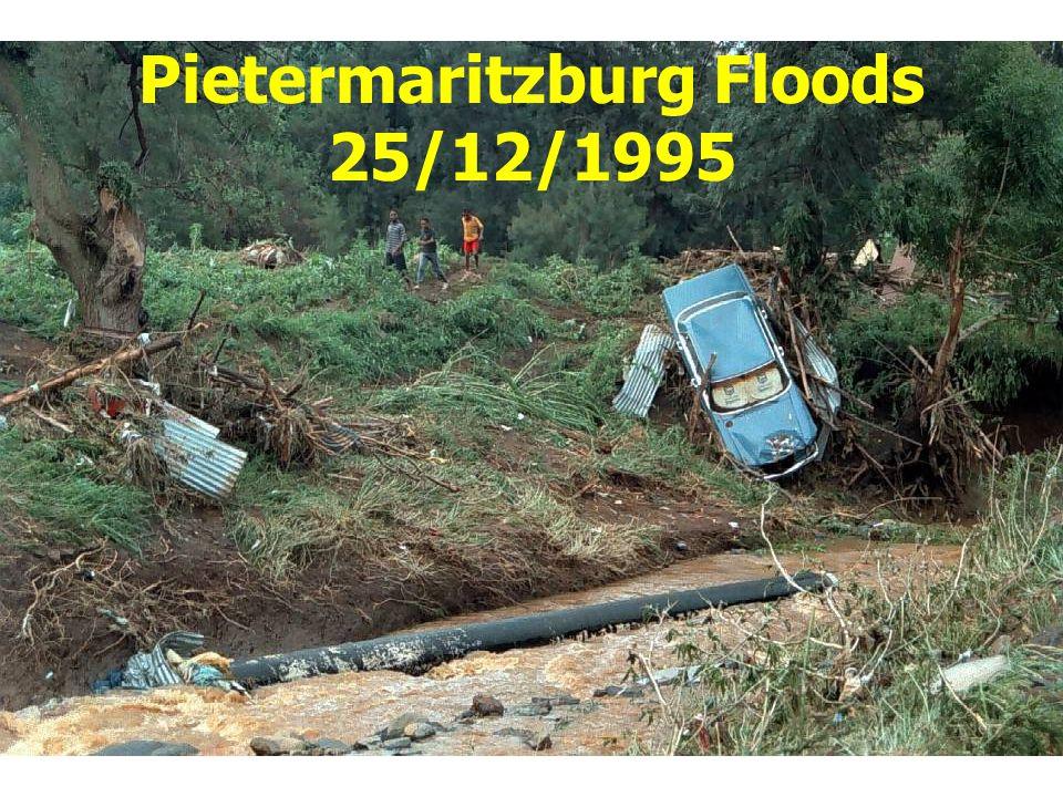 Pietermaritzburg Floods 25/12/1995