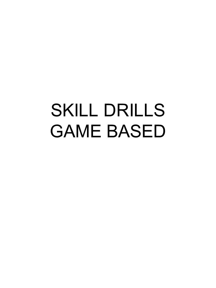 SKILL DRILLS GAME BASED