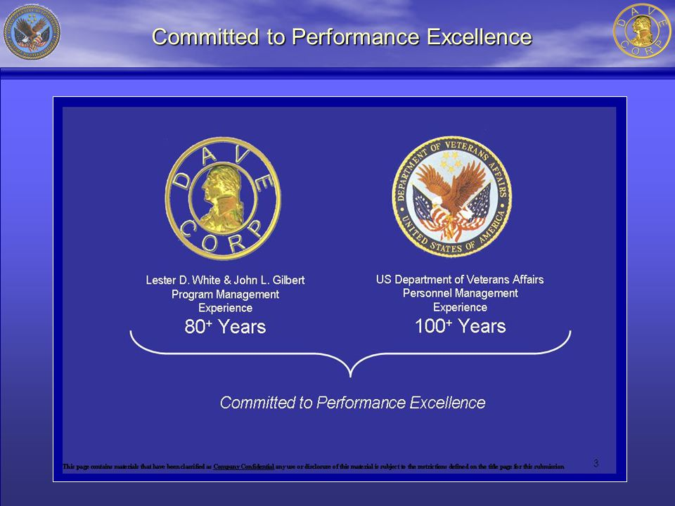 Committed to Performance Excellence