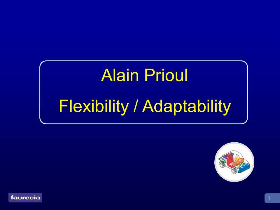 1 Alain Prioul Flexibility / Adaptability