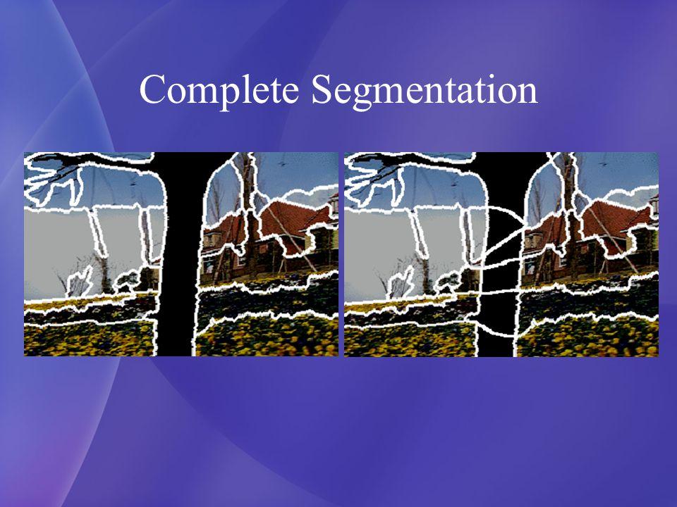 Complete Segmentation