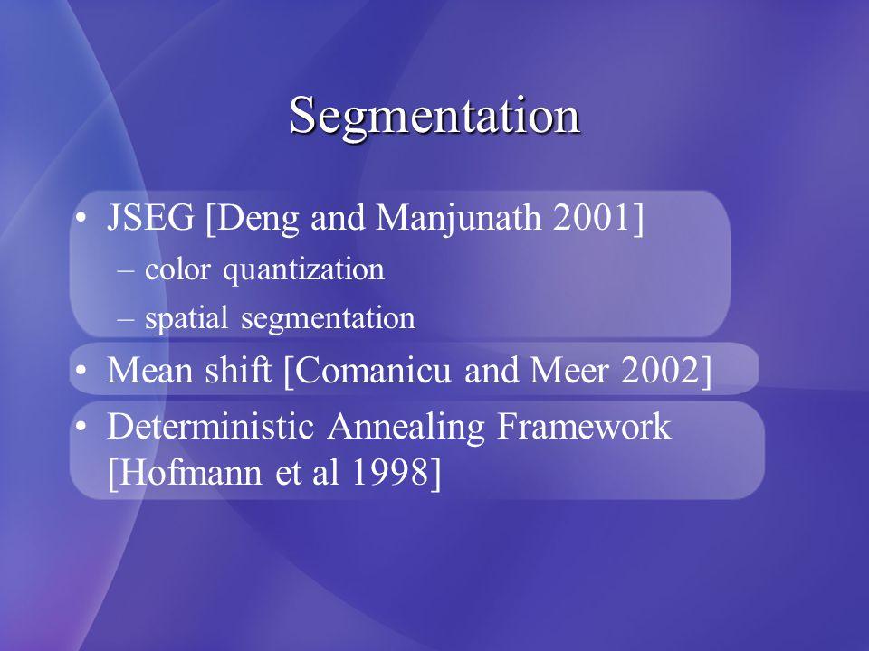 Texture-based Segmentation