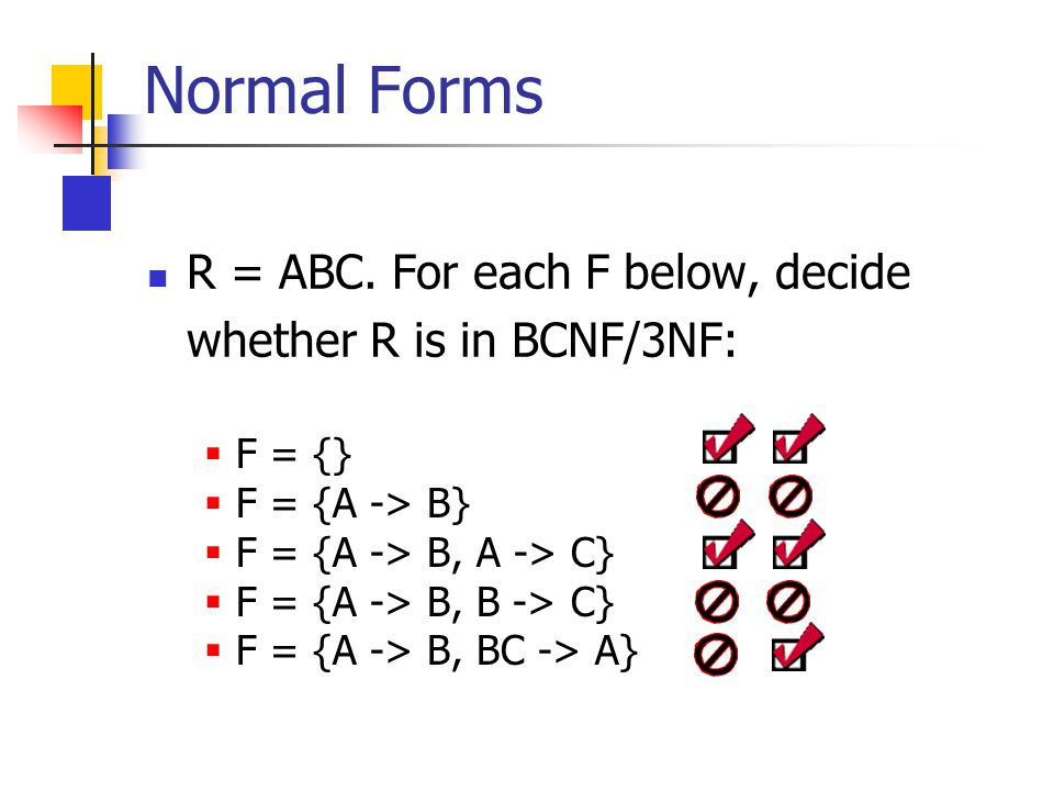R = ABC.