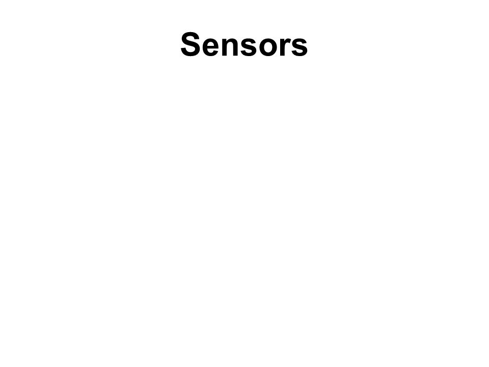 Sensor is a Transducer: What is a transducer .