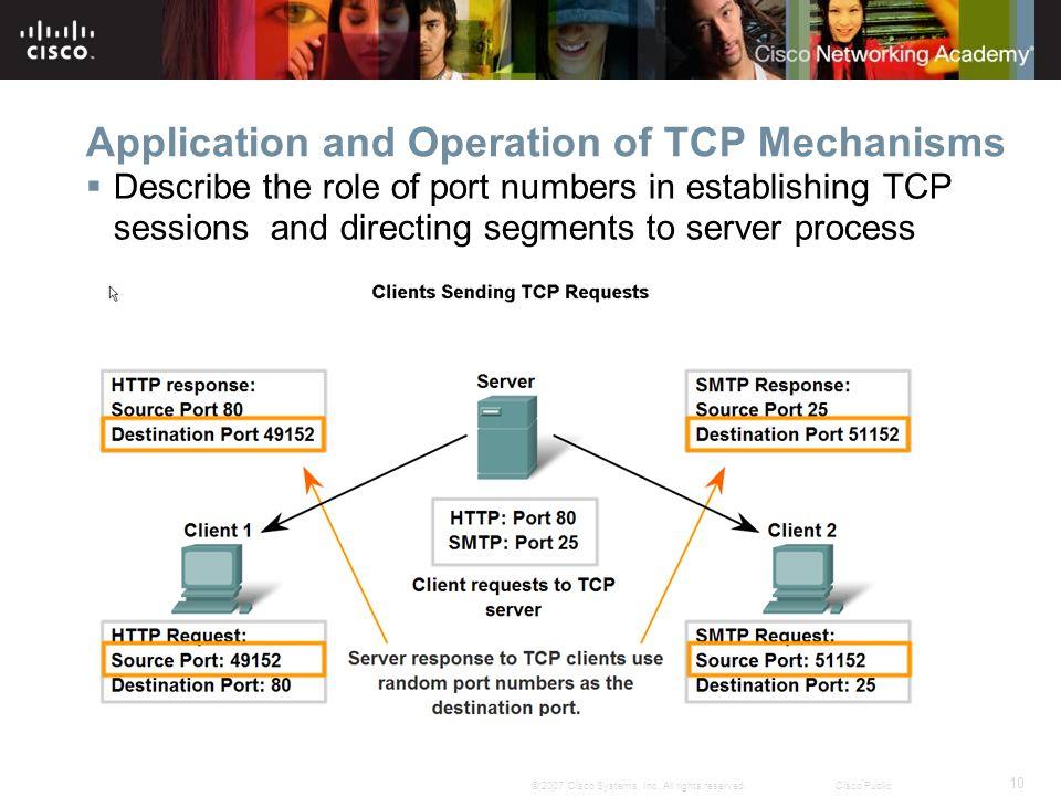 10 © 2007 Cisco Systems, Inc.