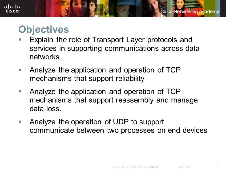 2 © 2007 Cisco Systems, Inc.