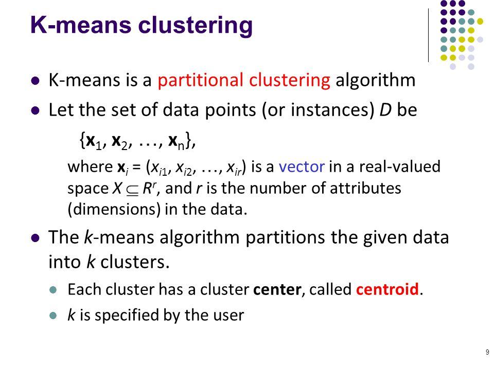 10 K-means Clustering Basic algorithm