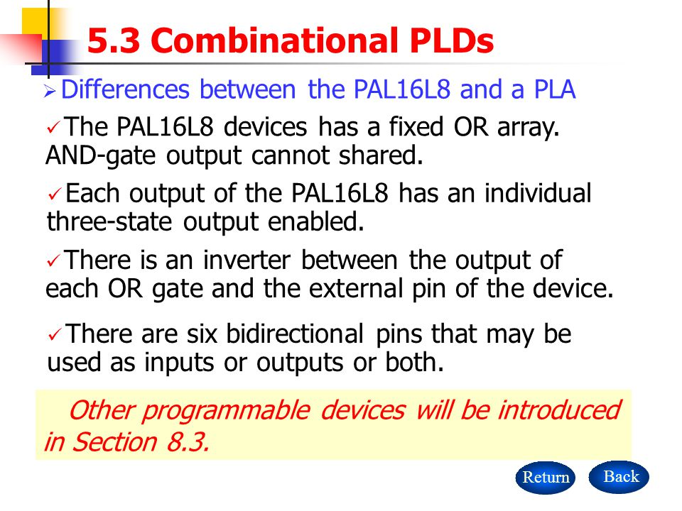 Other programmable devices will be introduced in Section 8.3.