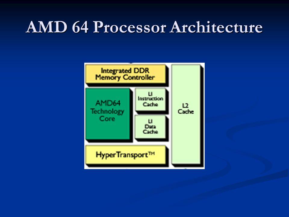 AMD 64 Processor Architecture