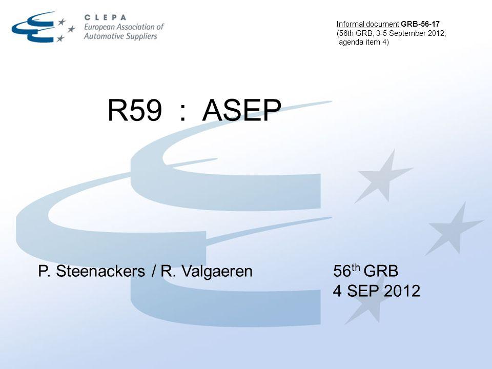 R59 : ASEP P. Steenackers / R.